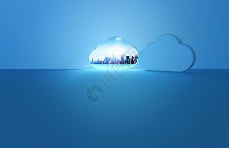 云端技术的城市图片
