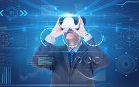 VR眼镜观看数据图片