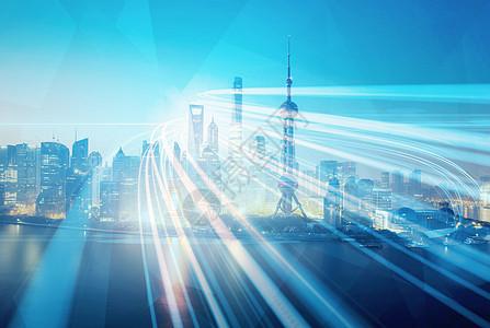 商业城市经济信息化图片