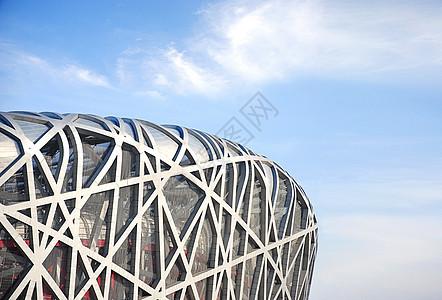 北京鸟巢细节图片