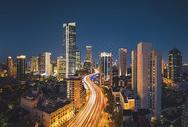 上海城市风光建筑夜景图片
