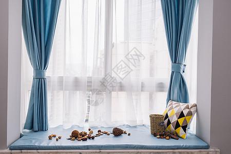 北欧日式家居窗台图片