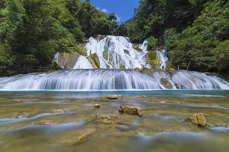 贵州遵义瀑布图片
