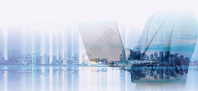 城市与商务人士图片