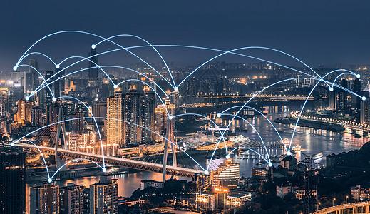 城市夜景坐标图片