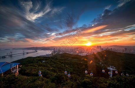 城市风光夜景图片
