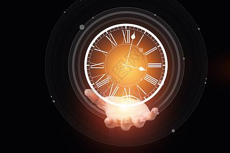 时间钟表图片