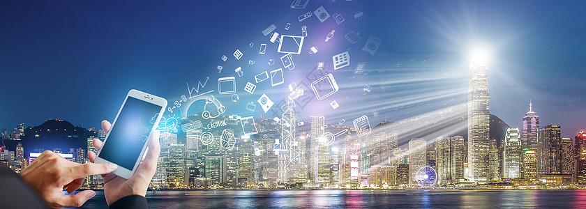 手机城市通讯图片