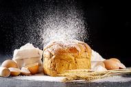 面包和面粉图片