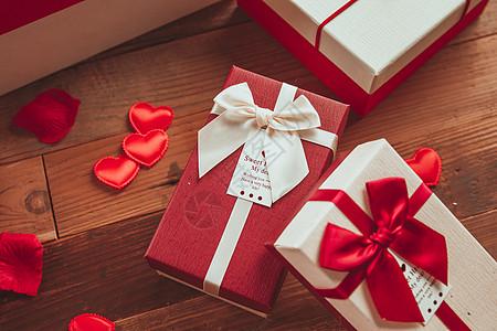 七夕礼物礼盒图片