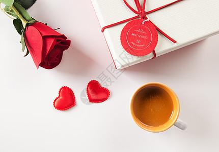礼品与玫瑰图片