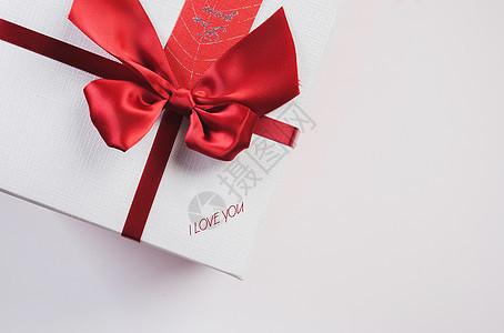 白色礼盒 爱情图片
