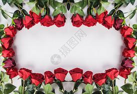 玫瑰花排列组合图片
