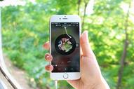 播放音乐的手机图片