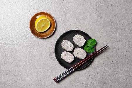 夏季清凉小食摆盘图片
