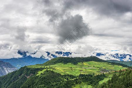 云南香格里拉自然美景图片
