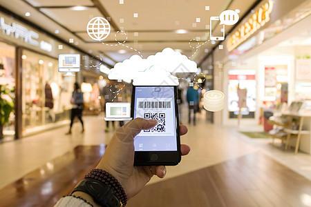 手机支付购物消费图片