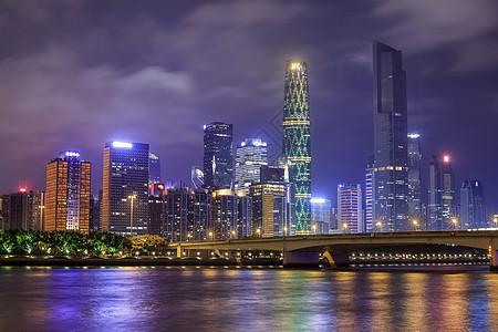美丽的广州夜色图片