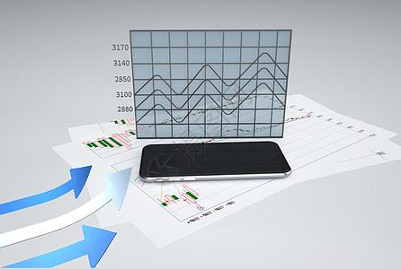 统计图素材图片