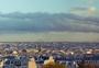 蒙马特高地鸟瞰巴黎城区全景图片