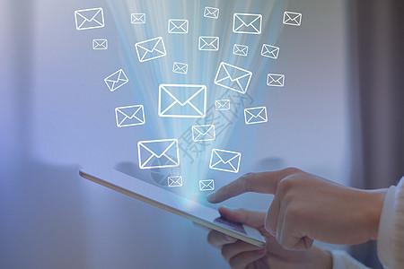 智能手机发送邮件图片