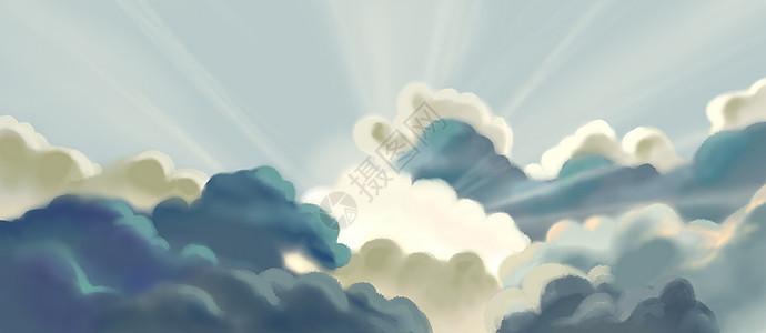 云中之光图片
