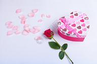玫瑰和礼物图片