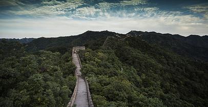 中国北京长城的风景 图片
