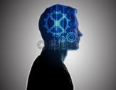 人工与科技智能二次曝光图片