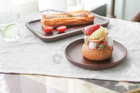 小清新日式早餐图片