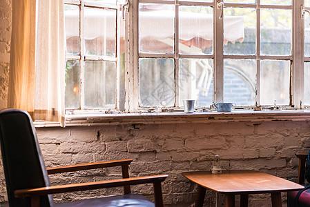 咖啡馆的角落图片