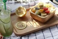 美味营养早餐水果沙拉图片