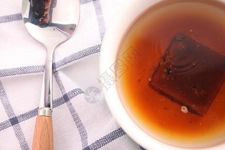 红糖姜茶冲泡图片