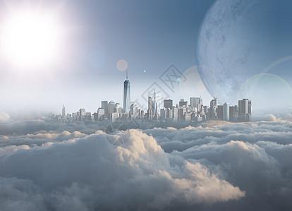 云中都市图片