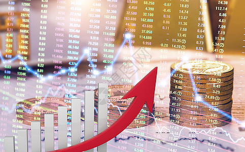 金融理财大数据图片