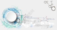 简洁机械感科技背景图片