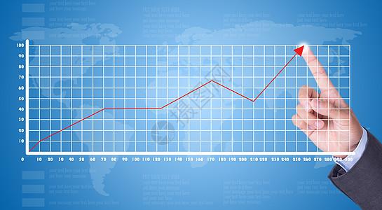 点击市场上升趋势图片