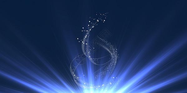 科技星光光效背景图片