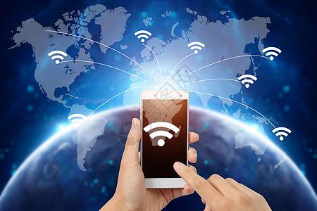 手机无线通信网络 图片