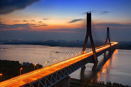 武汉天兴洲大桥图片