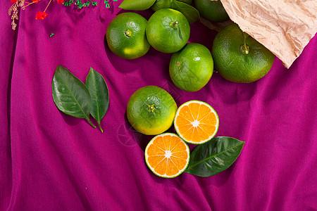 新鲜蜜橘图片