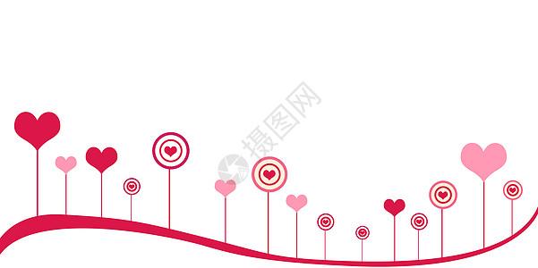情人节母亲节背景图图片