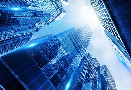 科技感全球信息化商务繁华创意城市图片