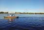 北海公园  游船 海面图片