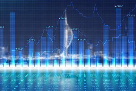 商业城市经济信息图片