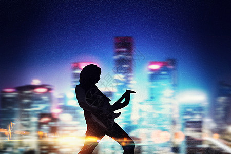 摇滚吉他手图片