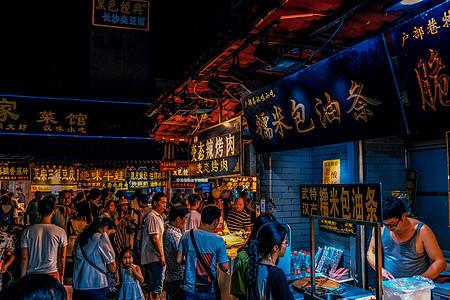 武汉美食街户部巷图片