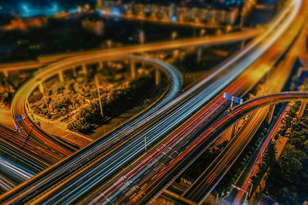 移轴效果的武汉二七长江大桥图片