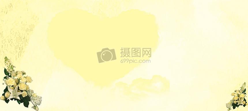淡黄玫瑰背景图片