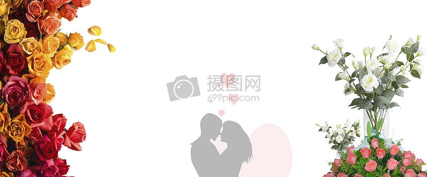 插画七夕爱情图片